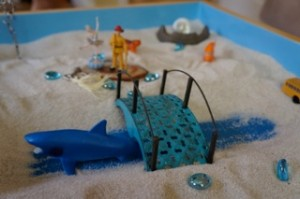 Sand Tray at GroundWork Counseling in Maitland