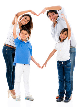 Parenting Help - Happy Family - Family Counseling