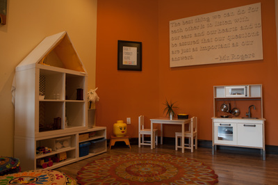 Play Therapy Room at Groundwork