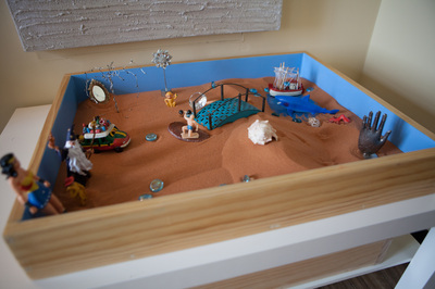 Sand Tray Counseling at Groudwork Counseling, Orlando Florida